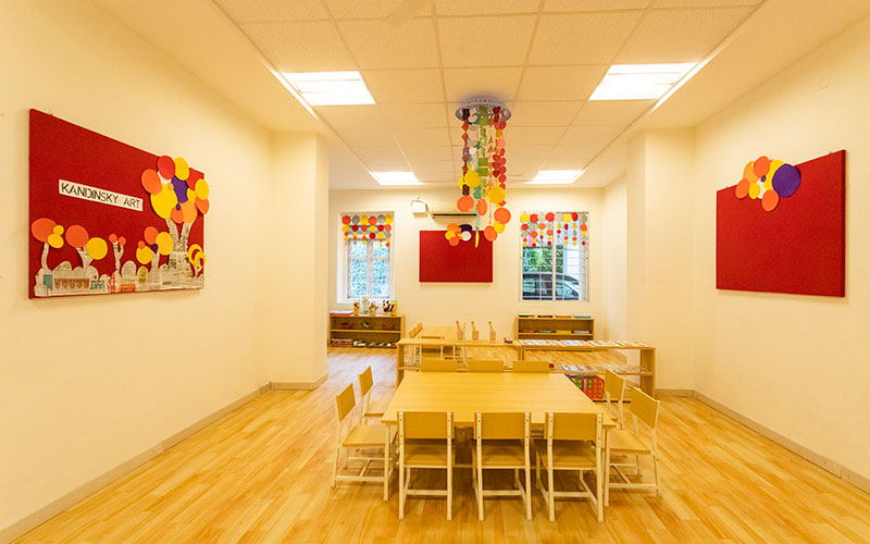 Multicultural-Environment-preschool in mg road