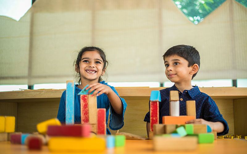 Creative activities-preschool in bangalore