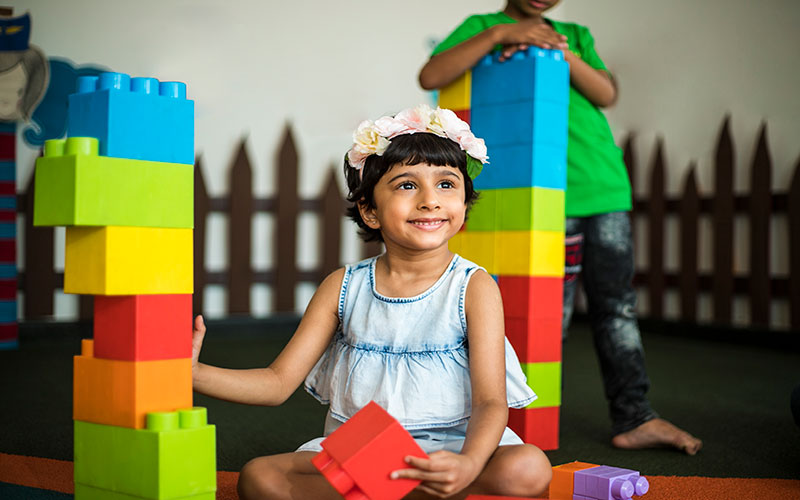 Creative activities-play school in bangalore