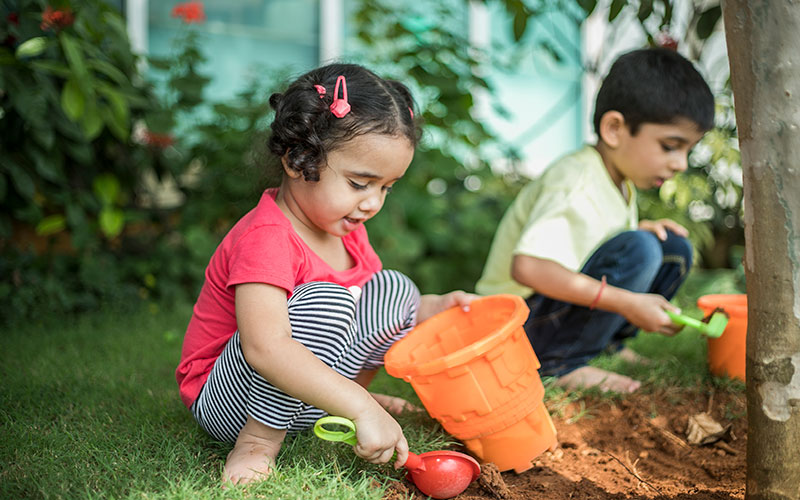 Garden making-day care centres in richmond town