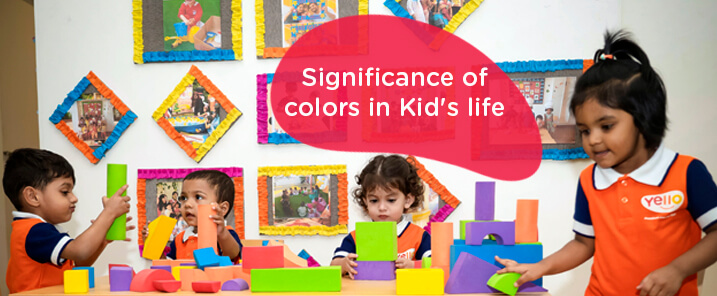 Significance of Colors in Kid's life-blog