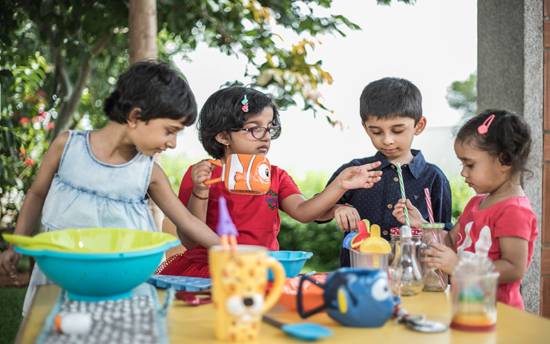 cooking without fire-preschool in mg road