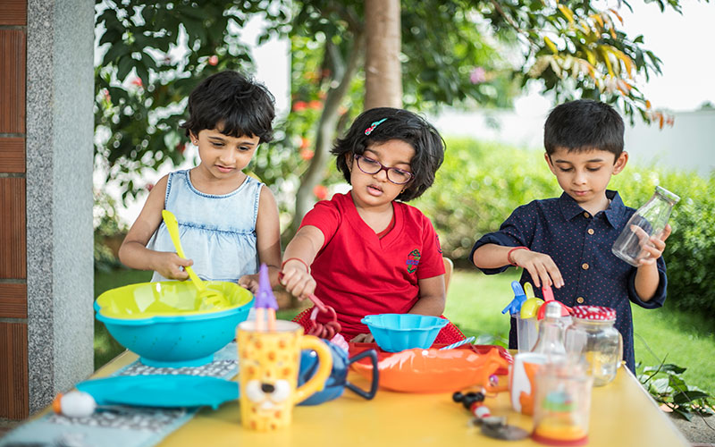 cooking without fire-Play school in bangalore
