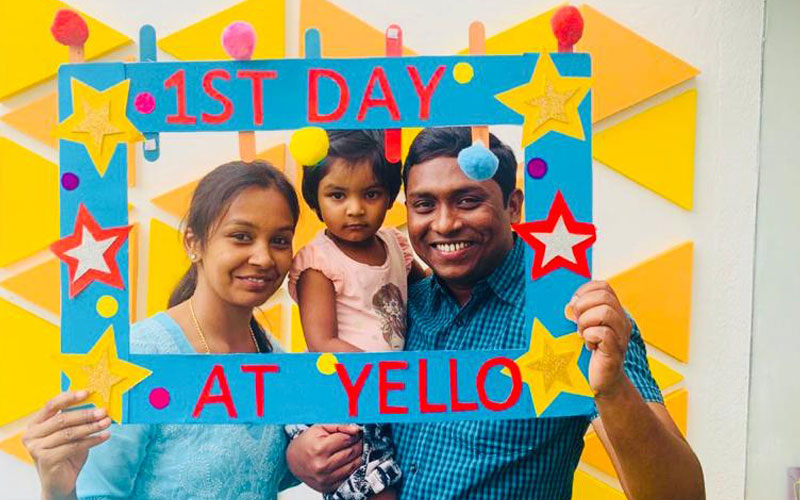 First-day-preschool in banashankari
