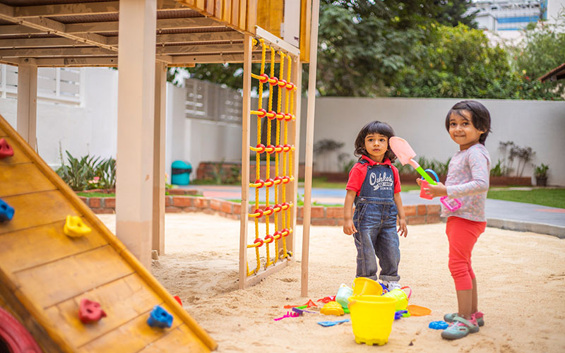 play outdoors safty-Preschool in bangalore