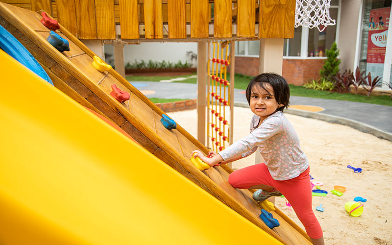 play outdoors safty-preschool in mg road