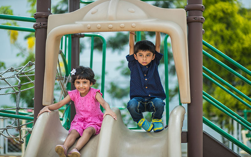 play outdoors safty-nursery school in residency road