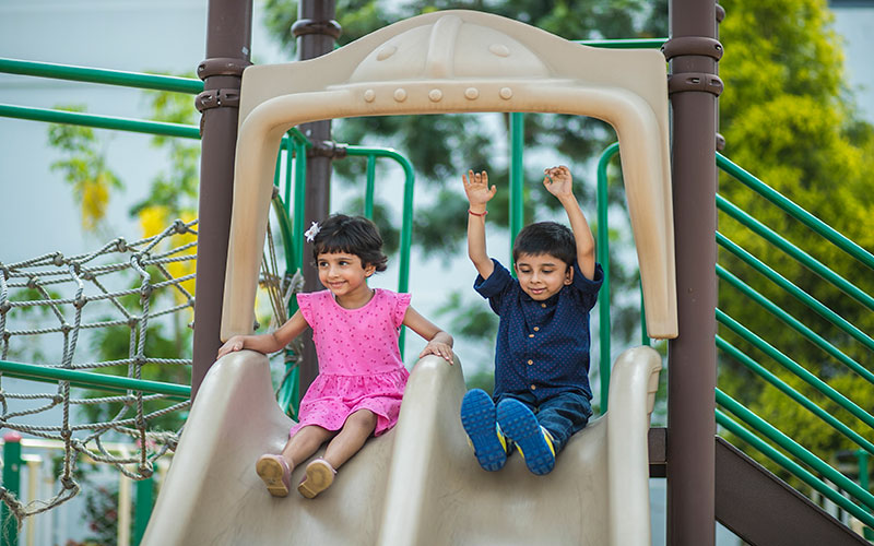 play outdoors safty-Pre schools in bangalore